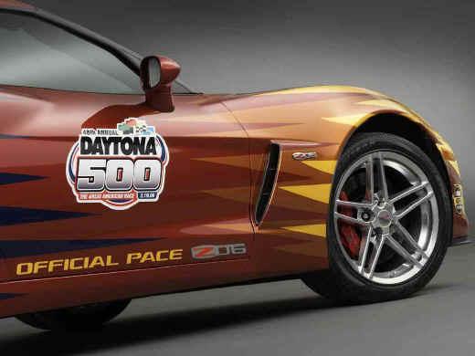 We Love Chevy 2006 Chevrolet Corvette Z06 Daytona 500 Pace Car